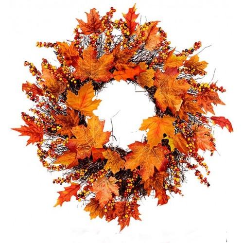 Corona autunnale, ghirlanda natalizia, per decorazioni