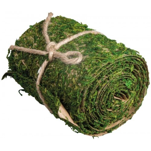 Muschio artificiale 10 cm x 200 cm, per presepe
