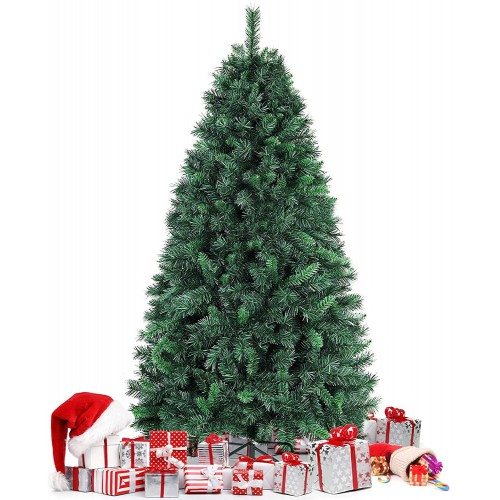 Albero di Natale da 180 cm con 750 rami, realistico