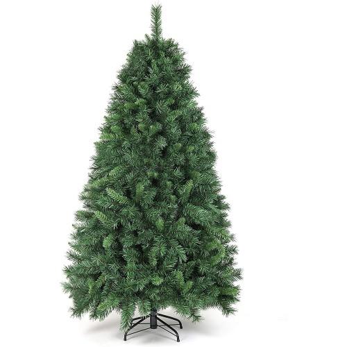 Albero di Natale da 180 cm con 580 punte, abete ignifugo