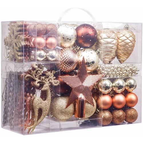 Set da 100 decorazioni e  Palle di Natale