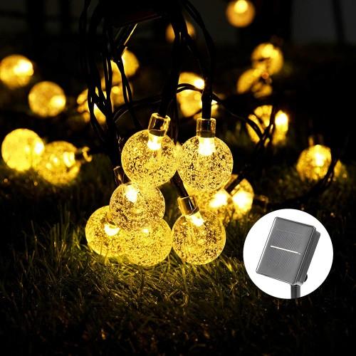 ✨ Catena palline luminose con 40 LED da 8 metri per l'albero