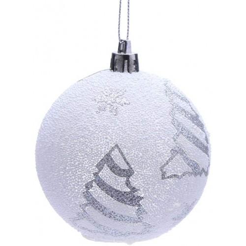 Pallina di Natale luminosa a led, in PVC, idea regalo