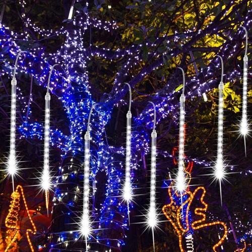 ★ Pioggia di Luci a LED, meteore di Luci Natalizie