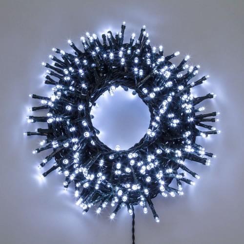Catena di Luce da 20,5 m, 1000 LED Bianco Freddo