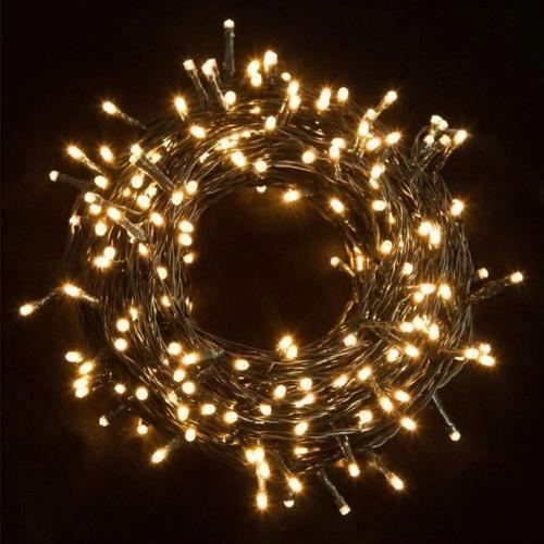 Set catena con 300 LED da 21 metri, giallo intenso