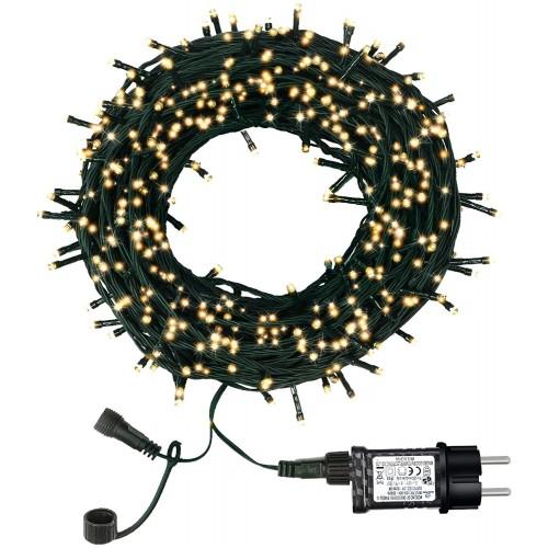 Catena di luci di Natale con 300 led, 8 modalità di illuminazione