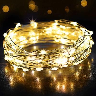 ⭐ Catena Luminosa da 12metri e 120 LED bianchi