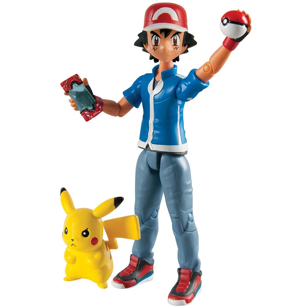 Action Figure Ash Pokemon