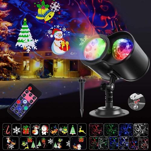 Proiettore Luci natalizia a Led con 14 modelli