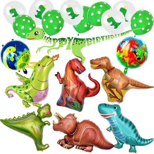 Set palloncini Dinosauri