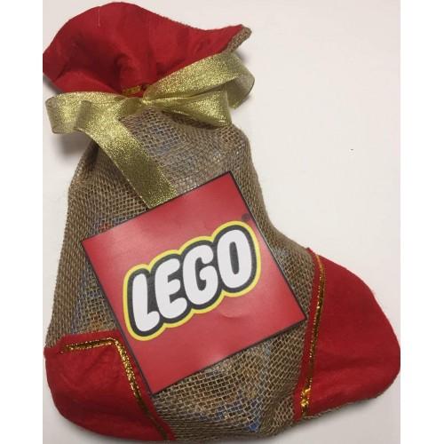 Canza della Befana LEGO, con dolci, per epifania