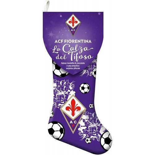 Calza della Befana F.C Fiorentina, con dolci e sorpresa del club viola