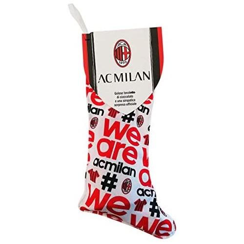 Calza della Befana A.C Milan con dolci e una super sorpresa Ufficiale