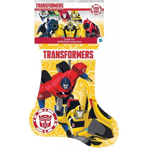 Calza Befana Transformers - Hasbro, con sorpresa all'interno