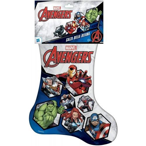 Calza della Befana super eroi Avengers Marvel, con sorprese