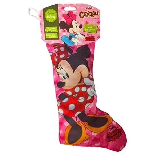 Calza della Befana Minnie Disney, con dolci e sorpresa