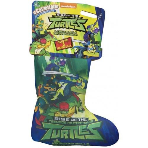 Calza della Befana Tartarughe Ninja, calzettone delle turtles