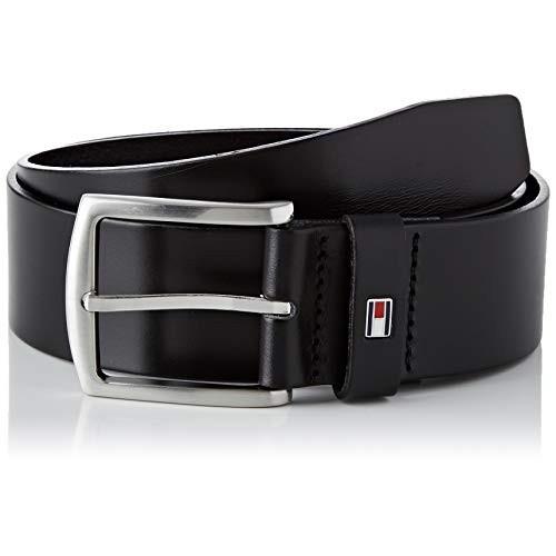 Cintura uomo Tommy Hilfiger New Denton Belt, nera, perfetta come regalo