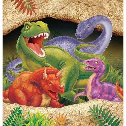 Tovaglia Dinosauri di plastica 137 x 274 cm per compleanni