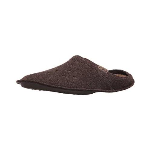 Ciabatte Unisex marroni per adulti, modello slipper
