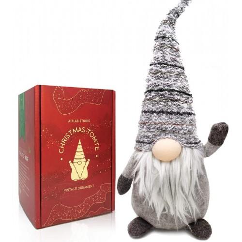 Gnomo di Natale in feltro da 49 cm, con scatola regalo Natalizia