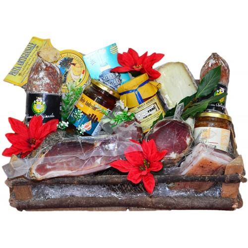 Cesto natalizio prodotti toscani gastonomici