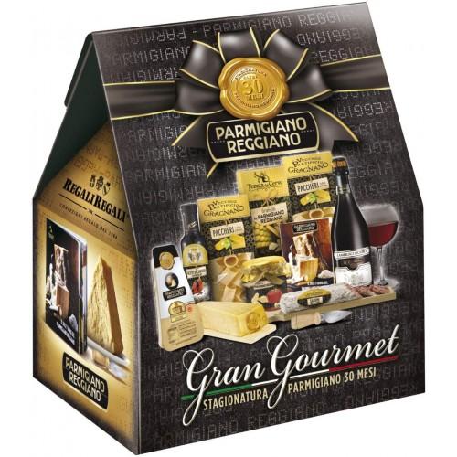 Cesto Natalizio Gran Gourmet con Parmigiano Reggiano