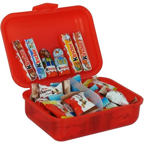 Lunch Box con specialità Kinder da 267g, idea regalo per bambini