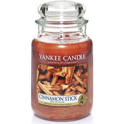 Candela profumata, bastoncino di cannella, aroma esotico
