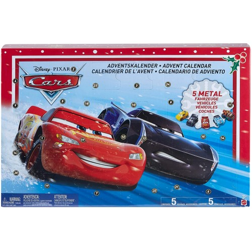 Calendario dell'avvento Cars Disney con giocattoli
