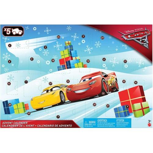 Calendario dell'avvento Cars 3 Disney, con 24 regali