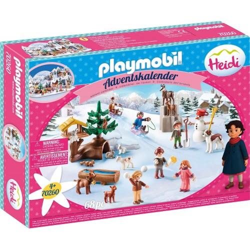 Calendario dell'avvento di Heidi Playmobil, con 24 sorprese