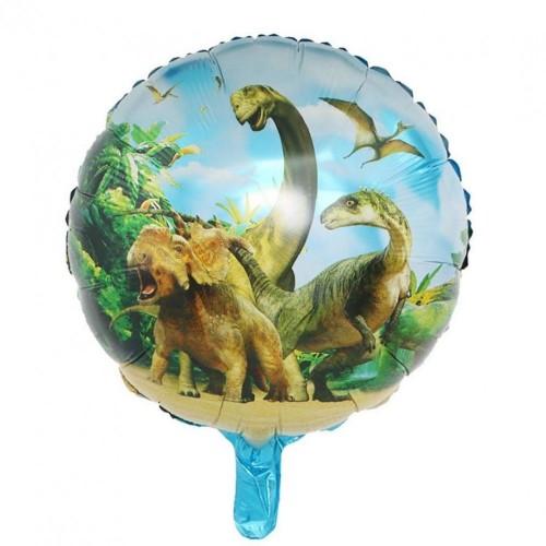 Palloncini tondi dinosauri mylar