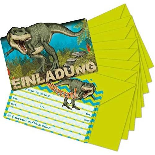 8 Inviti Tirannosaurus Rex