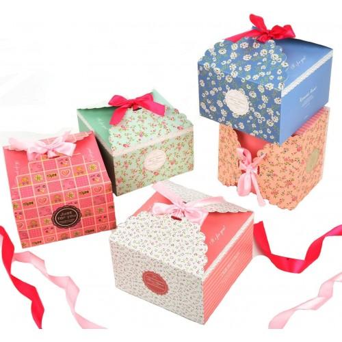 Set di 15 scatole decorative per il Natale, perfette per i regali
