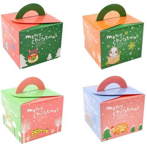 Set 32 scatole di Natale per i regali, 4 stili diversi