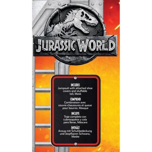 Rubie s Ufficiale Jurassic World: Fallen Kingdom Velociraptor Blue Dinosauro Costume, Bambino, età: 5-7, Altezza 132cm