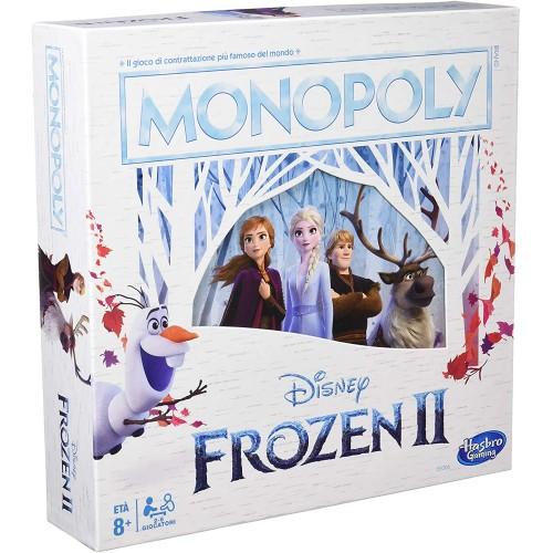 Monopoly Disney Frozen 2, Versione Italiana, gioco da tavolo