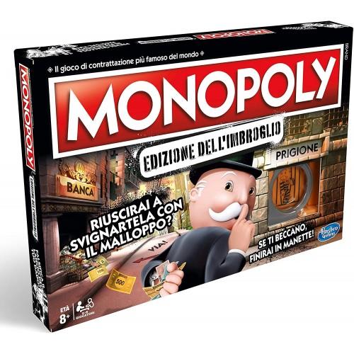Monopoly dell'Imbroglio, gioco da tavolo, idea regalo