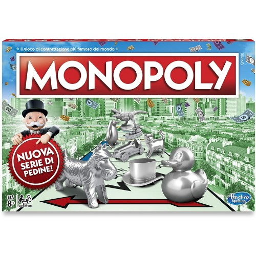 Monopoly Classico, gioco in scatola - Hasbro Gaming