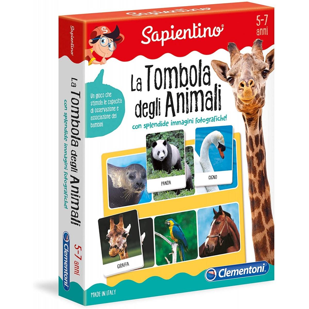 La Tombola degli Animali - Clementoni, per bambini
