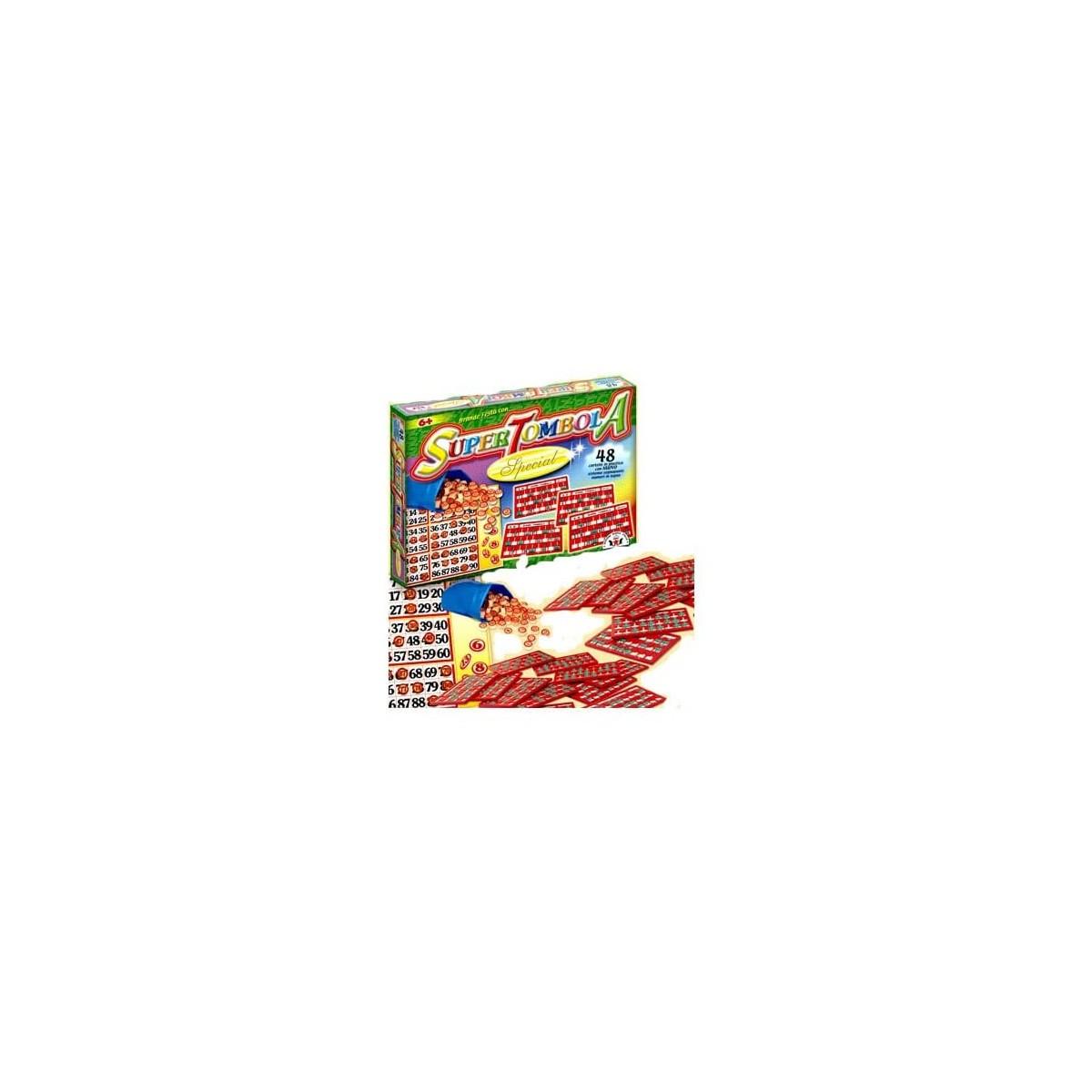 Tombola Special  con 48 cartelle, gioco da tavola Natalizio