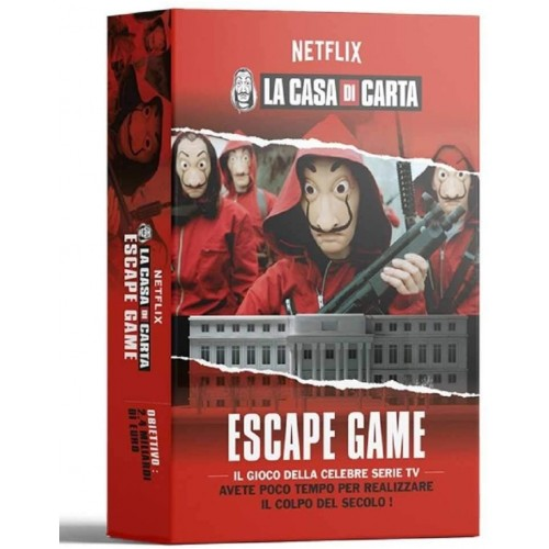 Gioco da tavolo La Casa di Carta, Escape Game