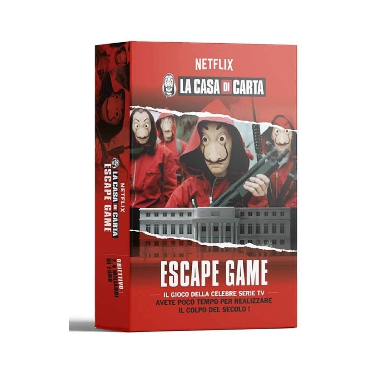 Gioco da tavolo La Casa di Carta, Escape Game