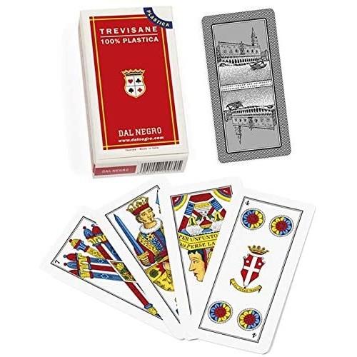 Carte da gioco Trevisane - Del Negro, mazzo per gioco da tavola