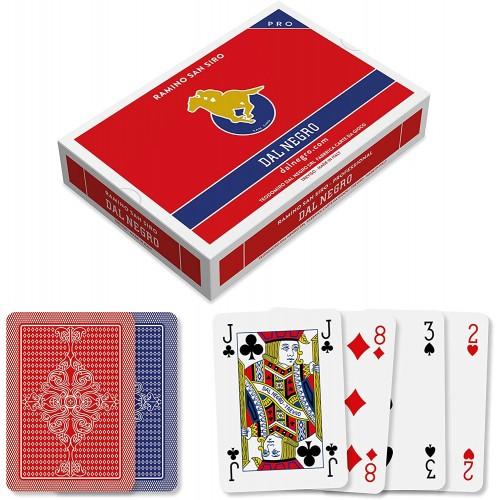 Carte da gioco Ramino Dal Negro, con astuccio
