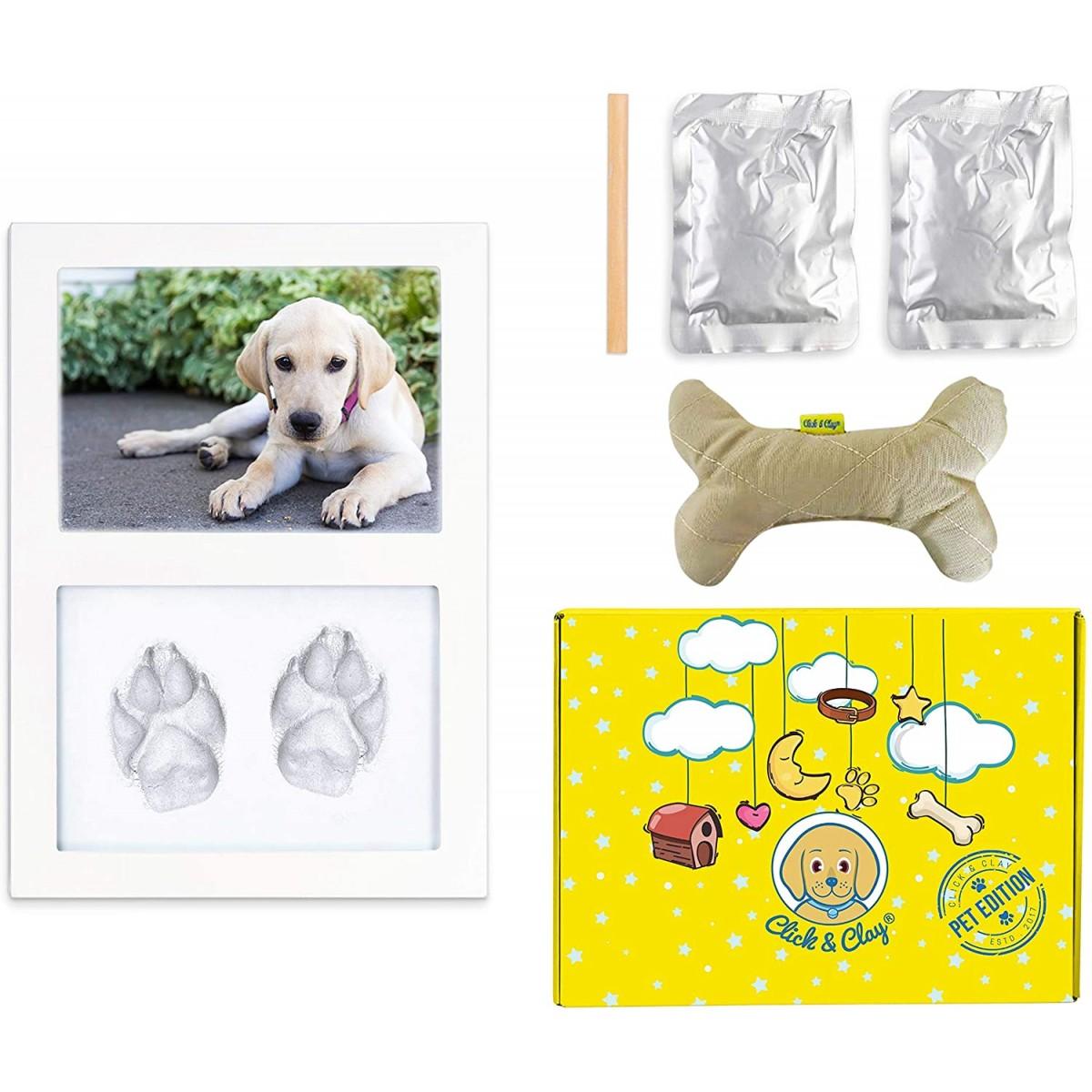 Cornice per impronte Cane, idea regalo per animali domestici