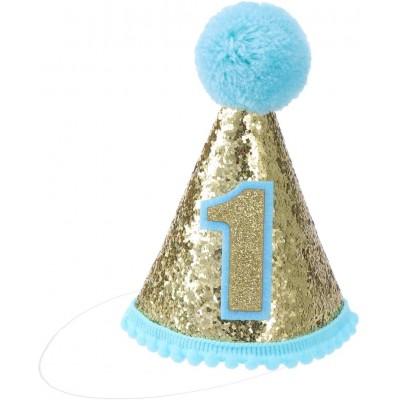 Cappello con Pon Pon per animale domestico, per 1 compleanno