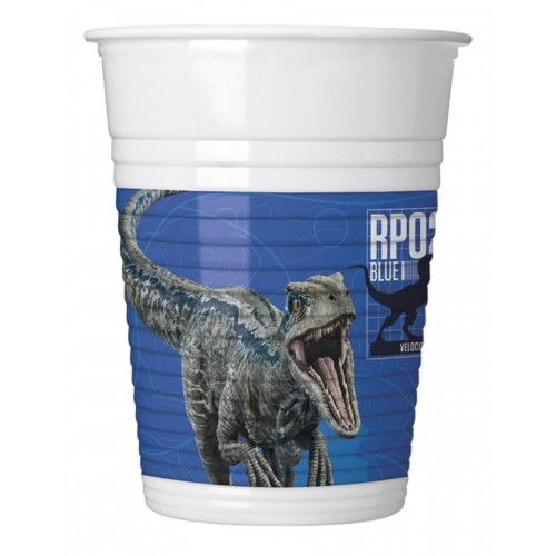 Bicchieri Jurassic World 2 da 200 ml